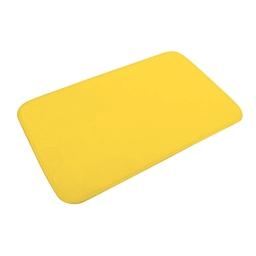 tapis de bain microfibre 45*75cm vitamine jaune