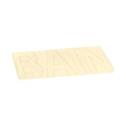 """Tapis de bain microfibre relief """"bain""""45*75cm vitamine Naturel"""
