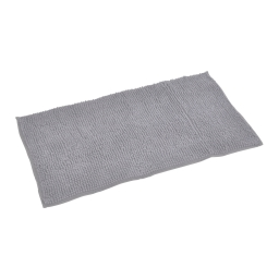 tapis de bain sweety microfibre 45*75cm vitamine gris clair