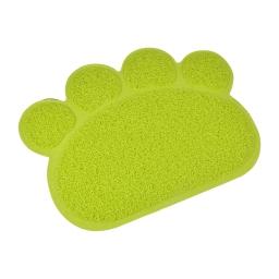 tapis de litiere pvc pattou pour chat l30*40cm vert