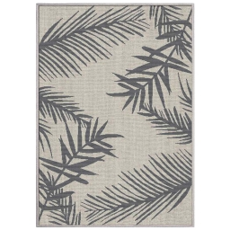 tapis deco rectangle 120 x 170 cm tisse reversible cubana