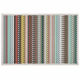 tapis deco rectangle 40 x 60 cm imprime andalousie