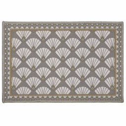 tapis deco rectangle 40 x 60 cm imprime art deco chic