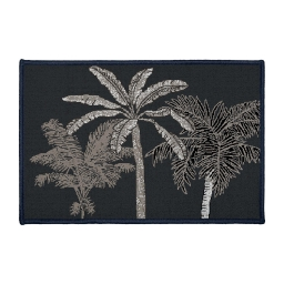 tapis deco rectangle 40 x 60 cm imprime cocoty