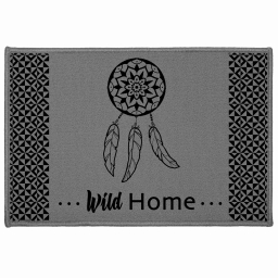 tapis deco rectangle 40 x 60 cm imprime dream home