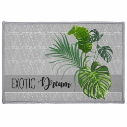 tapis deco rectangle 40 x 60 cm imprime exographic