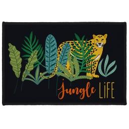 tapis deco rectangle 40 x 60 cm imprime mystic jungle