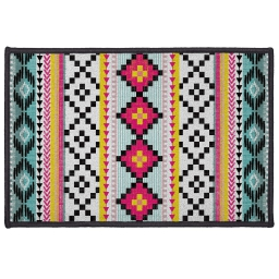 tapis deco rectangle 40 x 60 cm imprime waxy