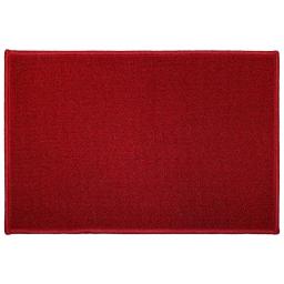 Tapis deco rectangle 40 x 60 cm uni primo Rouge