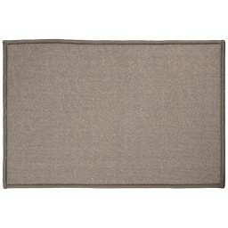 Tapis deco rectangle 40 x 60 cm uni primobis Gris
