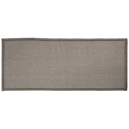 Tapis deco rectangle 50 x 120 cm uni primobis Gris