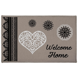 tapis deco rectangle 50 x 80 cm imprime angeline