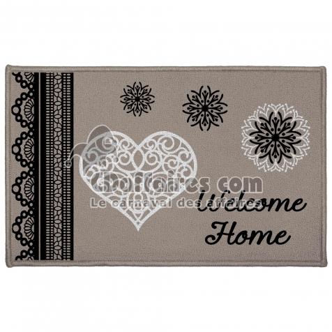 tapis deco rectangle 50 x 80 cm imprime angeline