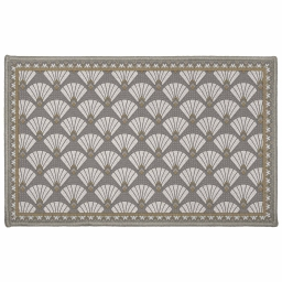 tapis deco rectangle 50 x 80 cm imprime art deco chic