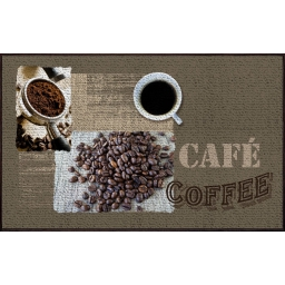 tapis deco rectangle 50 x 80 cm imprime barista