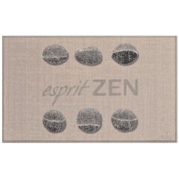 tapis deco rectangle 50 x 80 cm imprime esprit zen