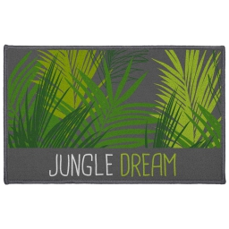 tapis deco rectangle 50 x 80 cm imprime jungle dream