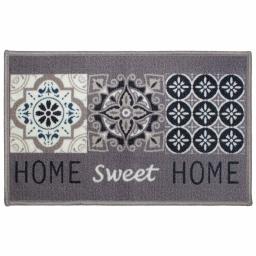 tapis deco rectangle 50 x 80 cm imprime maison chic