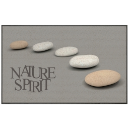 tapis deco rectangle 50 x 80 cm imprime nature spirit