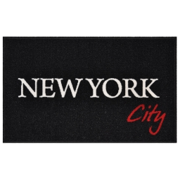 tapis deco rectangle 50 x 80 cm imprime ny city