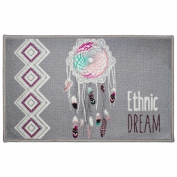 tapis deco rectangle 50 x 80 cm imprime pastel dream