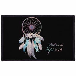 tapis deco rectangle 50 x 80 cm imprime tipi spirit