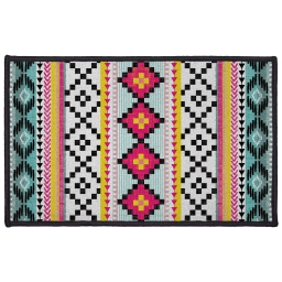 tapis deco rectangle 50 x 80 cm imprime waxy