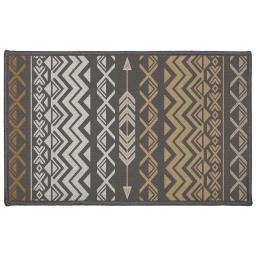 tapis deco rectangle 50 x 80 cm imprime zaparos