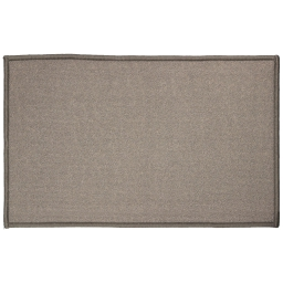 Tapis deco rectangle 50 x 80 cm uni primobis Gris
