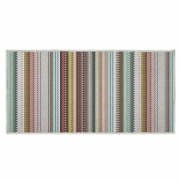 tapis deco rectangle 57 x 115 cm imprime andalousie