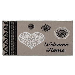 tapis deco rectangle 57 x 115 cm imprime angeline