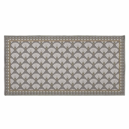 tapis deco rectangle 57 x 115 cm imprime art deco chic