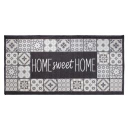 tapis deco rectangle 57 x 115 cm imprime faiences