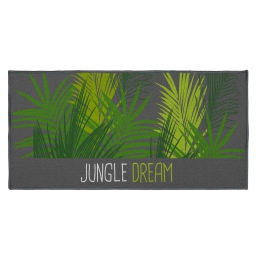 tapis deco rectangle 57 x 115 cm imprime jungle dream
