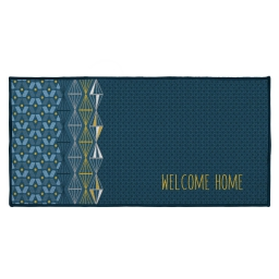 tapis deco rectangle 57 x 115 cm imprime kessy