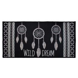 tapis deco rectangle 57 x 115 cm imprime love indien