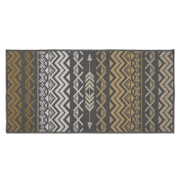 tapis deco rectangle 57 x 115 cm imprime zaparos