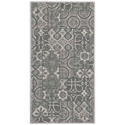 tapis deco rectangle 80 x 150 cm tisse reversible mindila