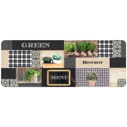 tapis en mousse 45 x 120 cm Green bistrot