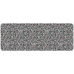 tapis en mousse 45 x 120 cm imprimé Terrazzo