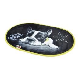 tapis l60*l40cm design star dog 100% polyester chien