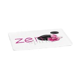 tapis microfibre douceur d'interieur theme zen spirit 45x75cm