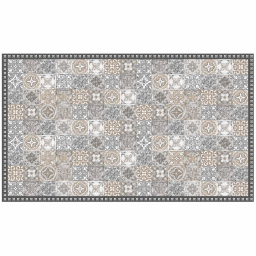Tapis rectangle 100 x 170 cm vinyle alicante Naturel