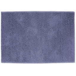 Tapis rectangle 117 x 166 cm tisse uni twist Bleu