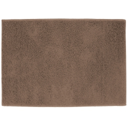 Tapis rectangle 117 x 166 cm tisse uni twist Choco