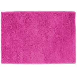 Tapis rectangle 117 x 166 cm tisse uni twist Fuchsia