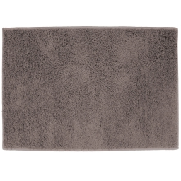 Tapis rectangle 117 x 166 cm tisse uni twist Gris