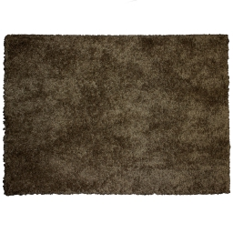 Tapis rectangle 120 x 170 cm tisse uni palace Choco