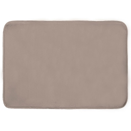 Tapis rectangle 120 x 170 cm velours uni louna Lin