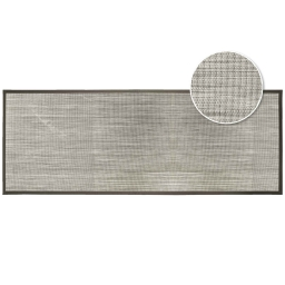 Tapis rectangle 45 x 120 cm pvc tisse tonio Naturel